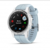garmin fenix 5S Plus White with Seafoam Band